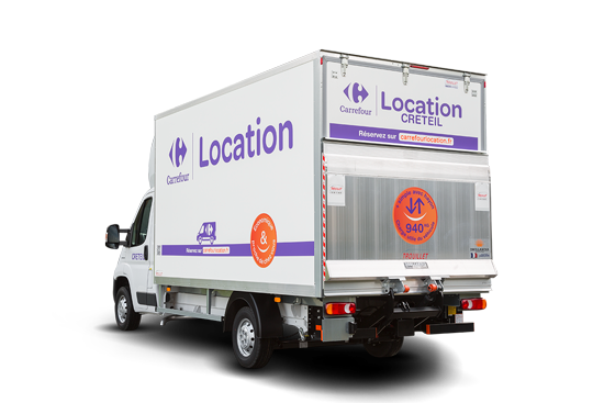 Location utilitaire carrefour - Comparateur location camion demenagement ...